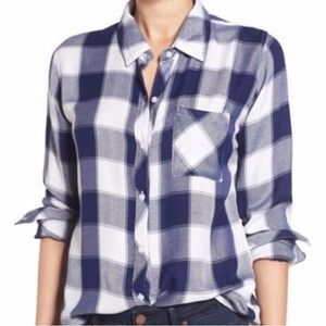 Rails Hunter Buffalo Plaid Button Down Shirt